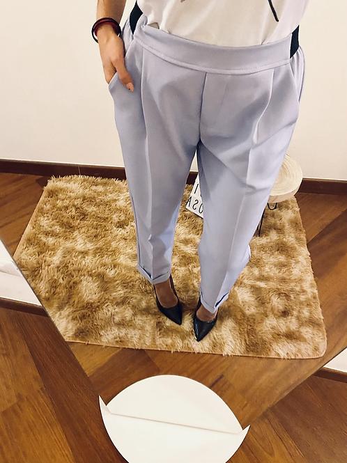 Pantalone lilla con elastico