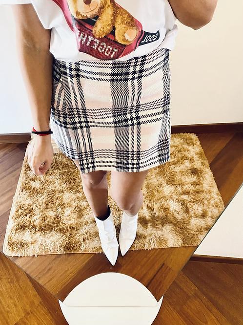Skirt quadri