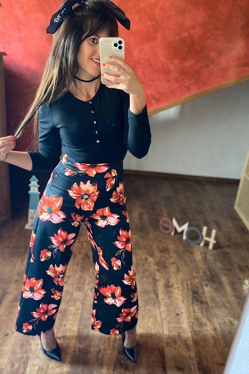 Pantalone palazzo fiori