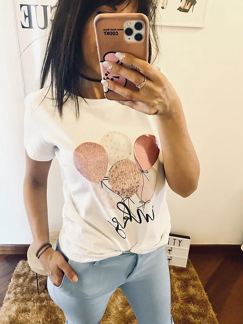 T shirt palloncini