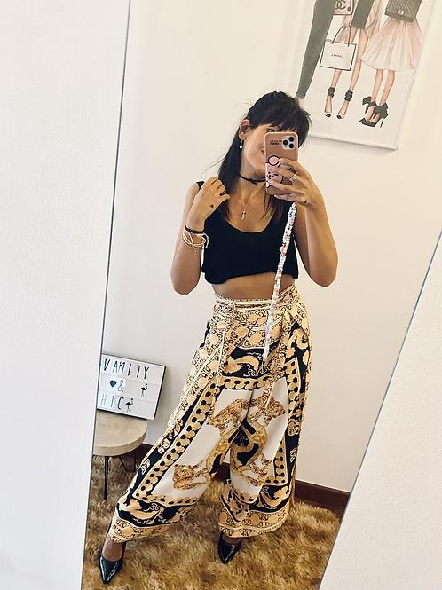 Pantalone foulard