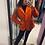 Thumbnail: Giacca arancione Maglieria Ragno