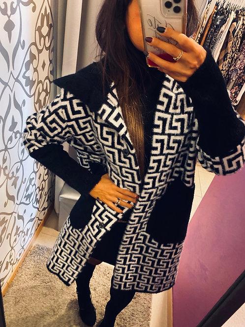 Cappotto in maglia