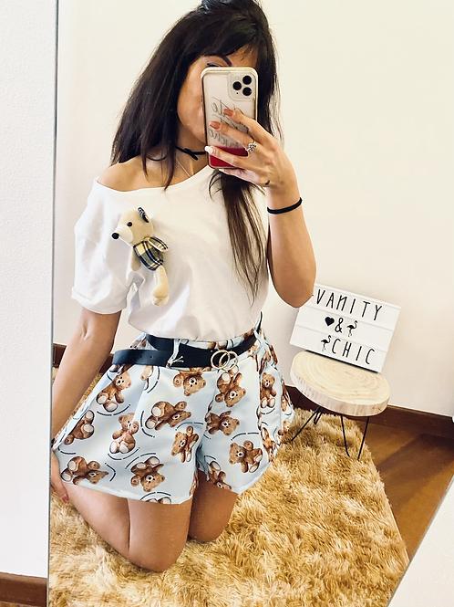 Shorts teddy