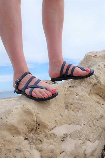 Pania Sandal, Adjustable Leather Strap, Choice of Color
