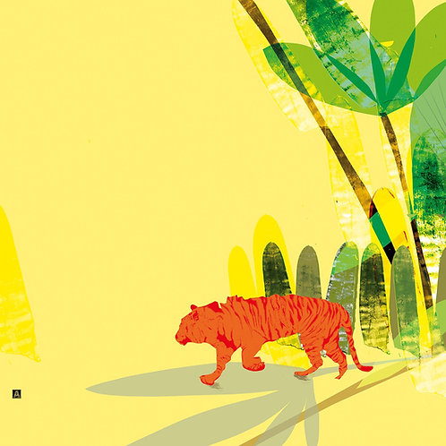 Tiger in the trees limited edition of