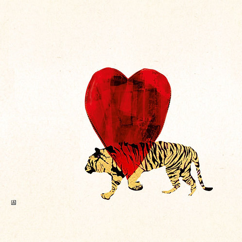 Tiger and Heart