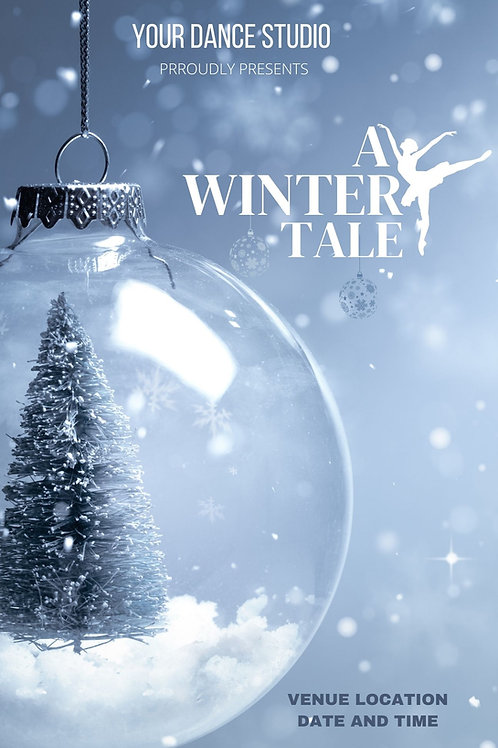 A Winter Tale Program Book Template