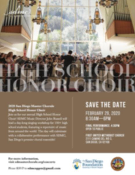 SDMC_2020 High School Honors Choir_savet