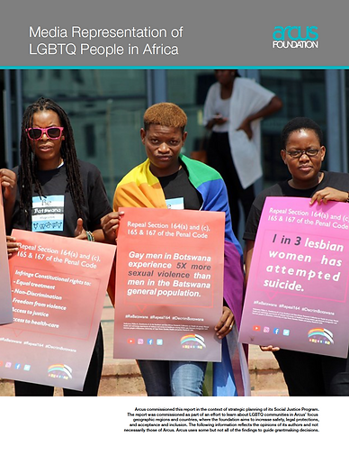 Media Representation of LGBTQ People in Africa
