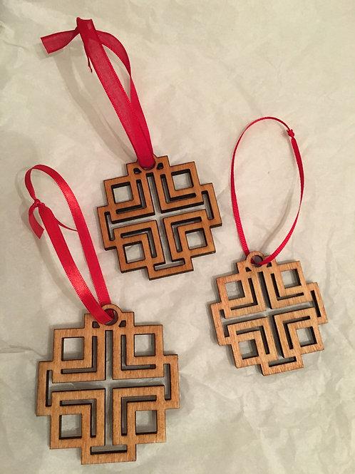 Wholesale:  Holden Cross Ornament