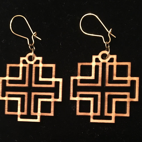 Holden Inspired Cross Earrings - 11