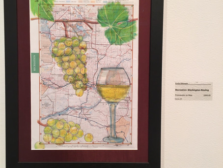 Uncorked! - Piece in Moses Lake Museum and Art Center