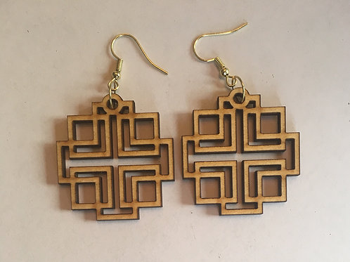 Holden Inspired Cross Earrings - 10
