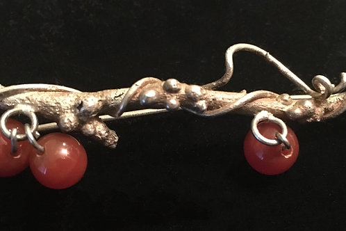 Winter Berry Branch Pin