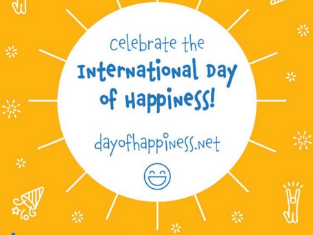 Celebrate International Day of Happiness