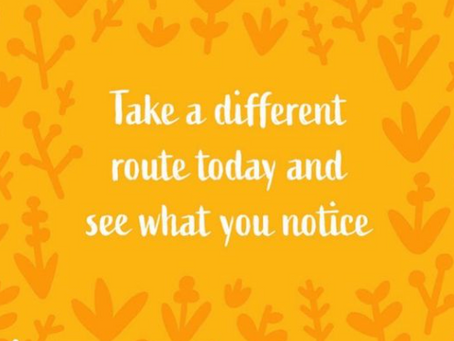 Change your route