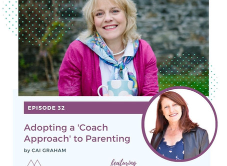 Podcast airs today:  A coach approach to parenting on the Parent & Teen Toolbox Podcast