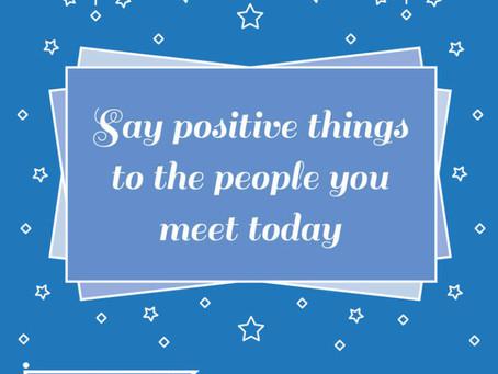 Positivity: try it on