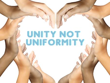 Unity: NOT Uniformity