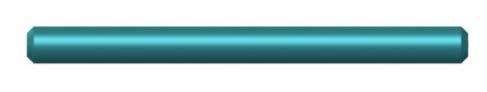 Haste reta: 25 mm a 105 mm, 200 mm, 500 mm de comprimento.