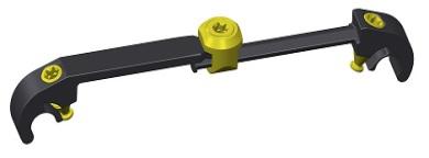 "Conector Transversal ""CrossLink"" com 4 tamanhos."