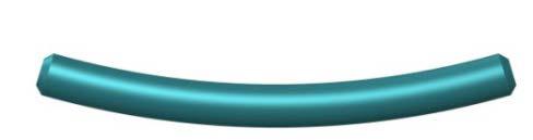 Haste Curva: 30 mm a 105 mm de comprimento.