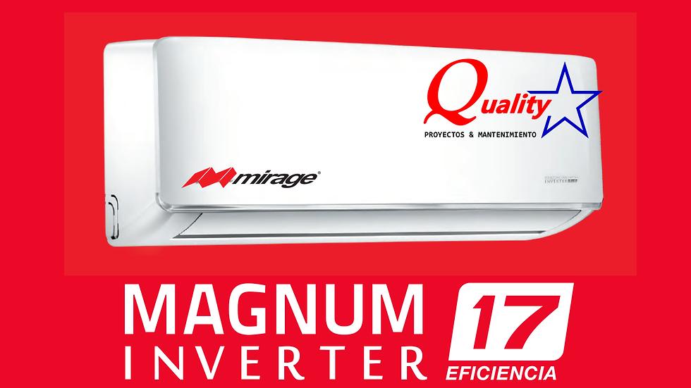 Magnum 17 inverter 36,000 btu/h 220V