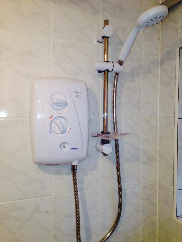 Basic shower system