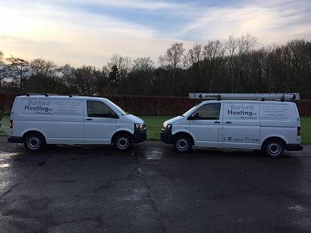 Barford Heating company vans