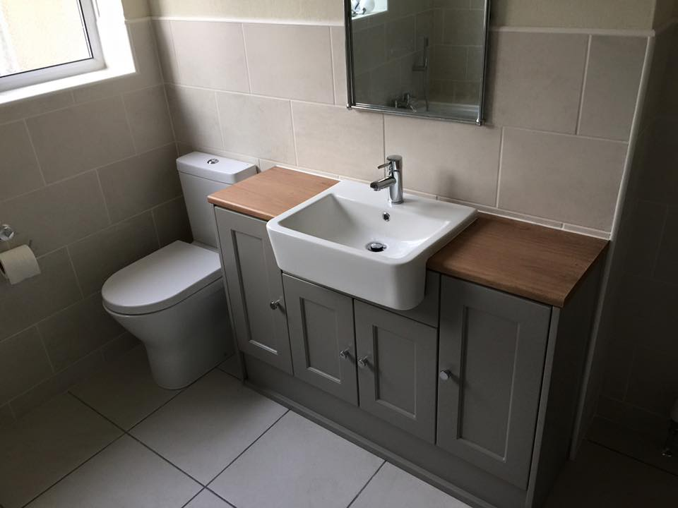 Toilet and sink