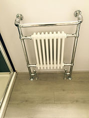 Towel Heater Installation