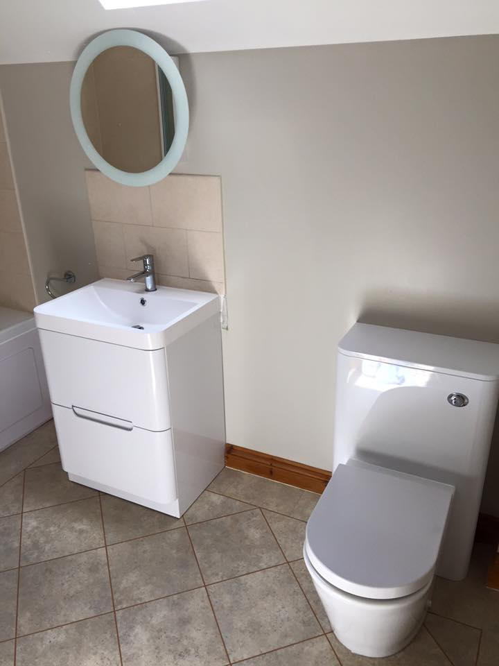Toilet and sink combo