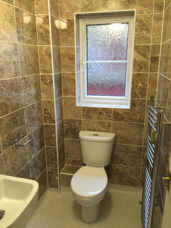 Toilet and classic tile design