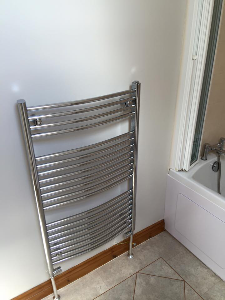 Stylish towel warmer
