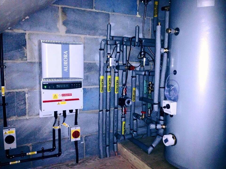 Central Heating Boiler & pump