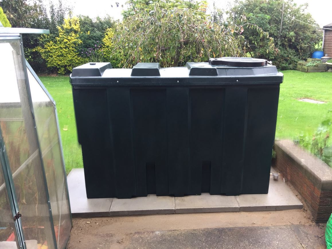 Central Heating Oil Storage Tank