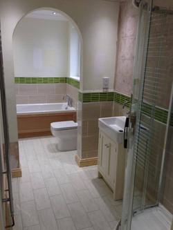 Classy bathroom suite