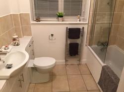 Stylish bathroom suite