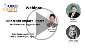 2021 Impact Report Webinar: Resilience and Togetherness