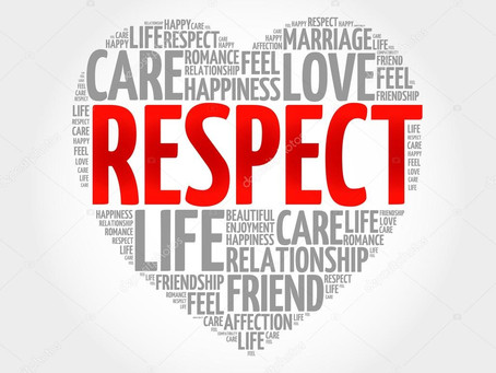 A Call for Respect