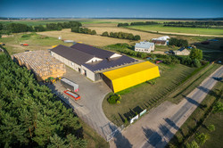 Storehouse from above