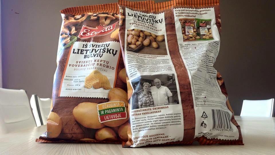 Estrella potato chips 2015