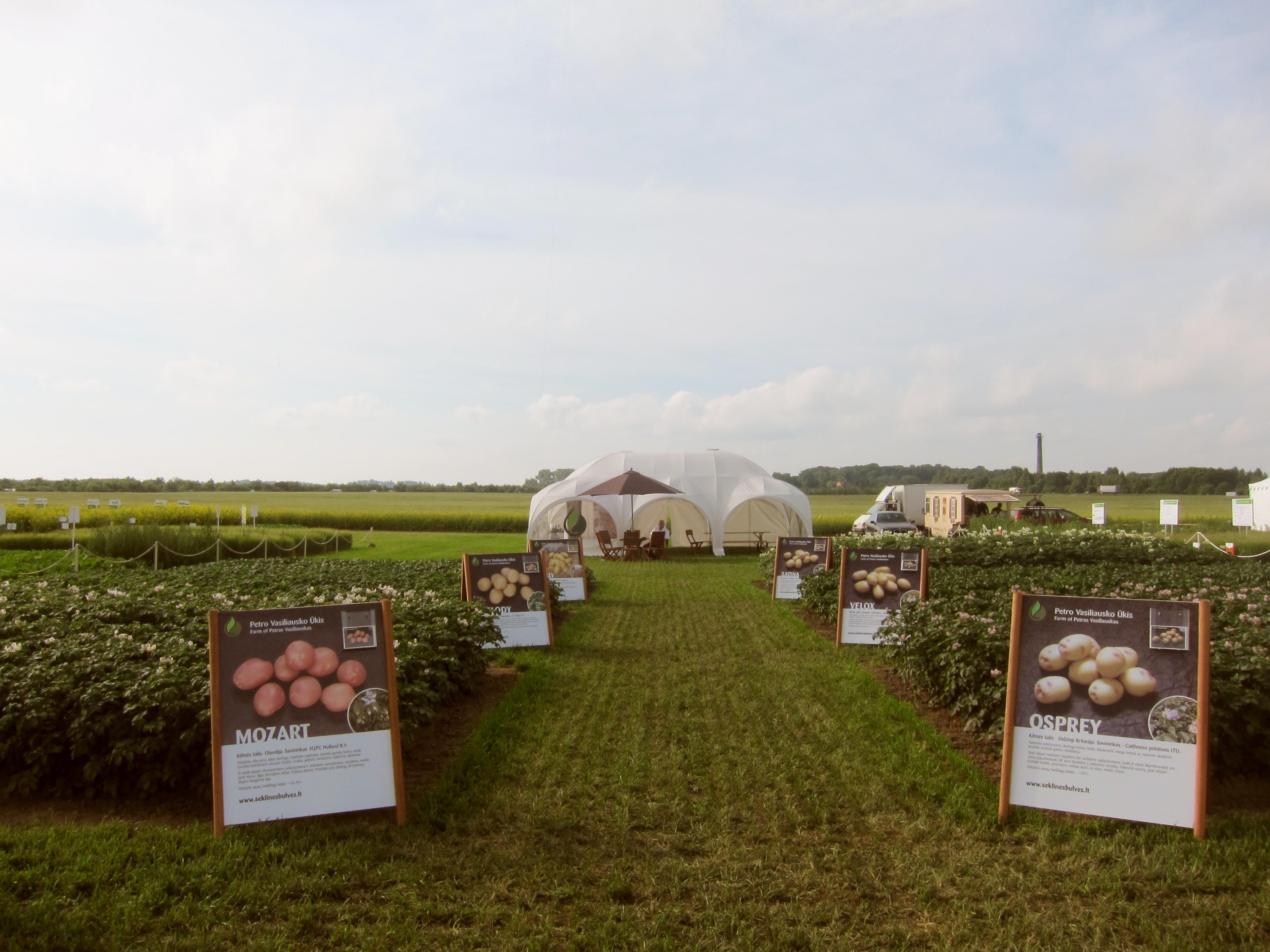 Agrovizijos parodoje 2011 m.