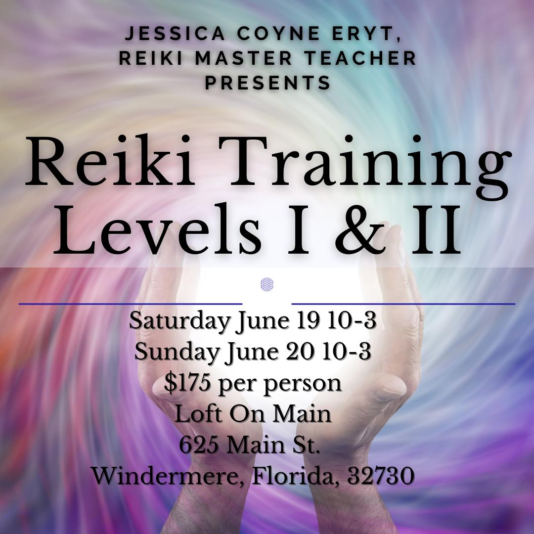 Reiki I & II Training Certification