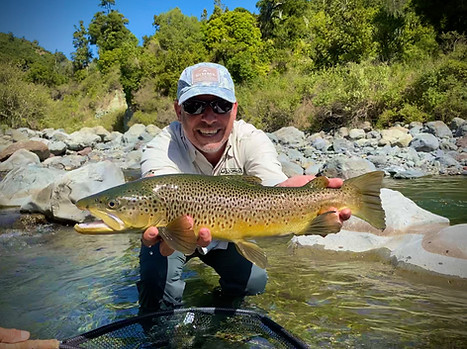 North Island New Zealand Fly Fishing