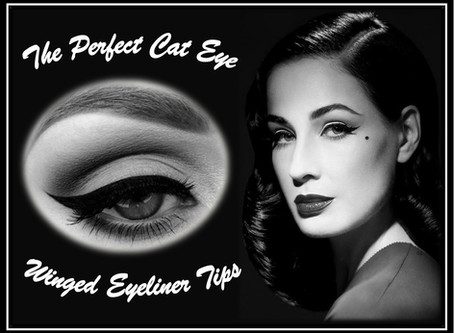 Winged Eye Liner: Pin Up Perfection