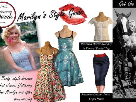 Marilyn Monroe's Style Guide
