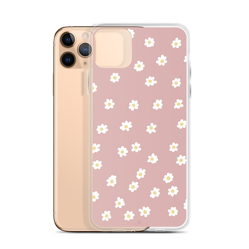Messy Daisies iPhone Case