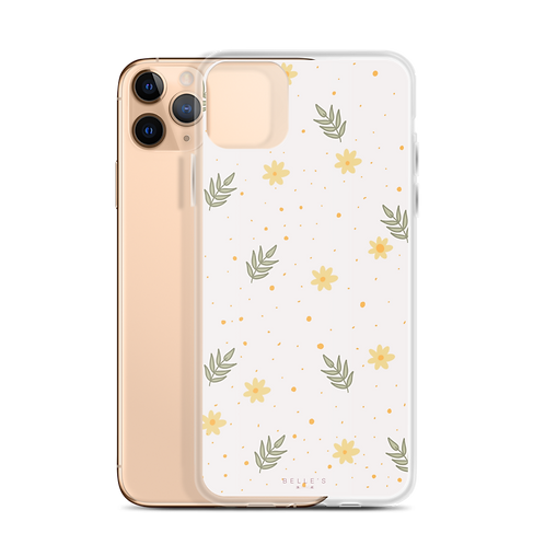 Yellow Pattern iPhone Case